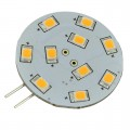 G4 Base Side-Pin Disc Type LED Light Bulb with SMD2835 12V 1.8W (Final Sale)