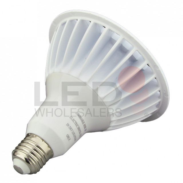 UL Dimmable PAR38 LED Spot Light Bulb With Interchangeable Wide Angle Flood L