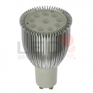 GU10 4.5W LED Spot Light Bulb with Machined Aluminum Housing (Final Sale)