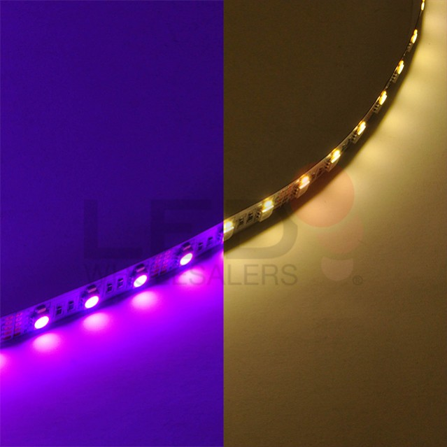 12 volt color changing rgbw flexible led ribbon strip. Black Bedroom Furniture Sets. Home Design Ideas