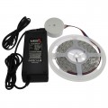 24V 16.4-ft Color-Changing + White RGBW Kit with Flexible LED Strip, Power Supply, and Choice of Controller