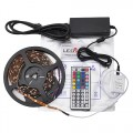 RGB Color-Changing Kit With LED Strip, IR Controller, and Power Supply