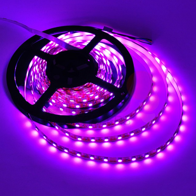 12 volt 16 4 ft color changing rgb flexible led ribbon. Black Bedroom Furniture Sets. Home Design Ideas