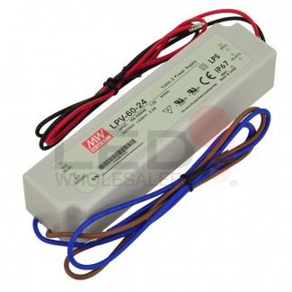 24V 60-Watt UL Constant Voltage Single Output Waterproof Switching Power Supply