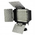 70-LED Video Light Panel with 4-Leaf Barn Door and Built-In Rechargeable Battery (Final Sale)