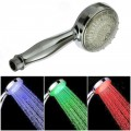 Temperature Detecting Color Changing LED Shower Head