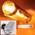 """600W HID Grow Light Kit with Electronic Ballast, HPS Bulb, and 6"""" Round Cool Tube Reflector"""
