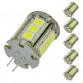 G4 Bi-Pin Base Tower Type LED Bulb with 18xSMD3528 12V 1.8W (6-Pack)